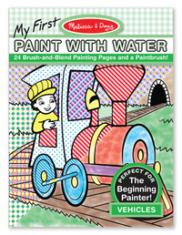 Melissa & Doug: My First Paint With Water - Vehicles