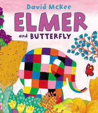 Elmer and Butterfly by David McKee image