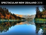 Spectacular New Zealand 2018 Horizontal Wall Calendar