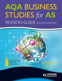 AQA Business Studies for AS by Ian Marcouse image