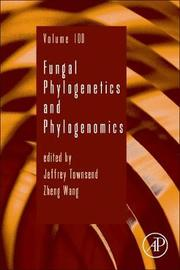 Fungal Phylogenetics and Phylogenomics: Volume 100 image
