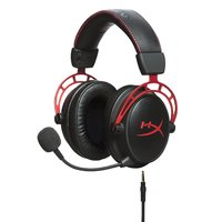 Kingston HyperX Cloud Alpha - Gaming Headset (Red) for PS4 image