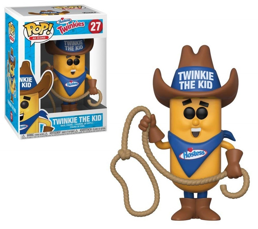 Ad Icons - Twinkie the Kid Pop! Vinyl Figure (with a chance for a Chase version!) image