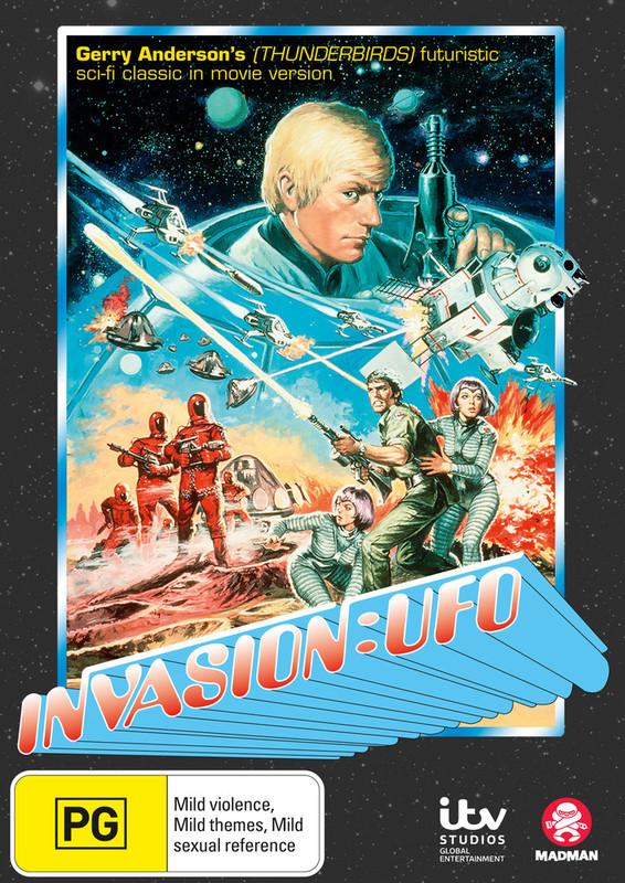 Invasion: UFO on DVD