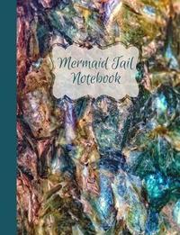 Mermaid Tail (Kyanite Gemstone) Blank Notebook Journal by Ahri's Notebooks & Journals