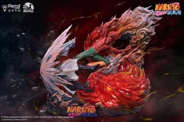 Naruto: Guy Might vs. Madara Uchiha - 1/6 Polystone Statue