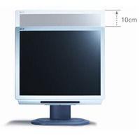 "Acer AL1722H 17"" LCD MONITOR SILVER Height Adjustable & 8ms Response Rate Integrated Stereo Speakers Maximum Resolution: 12 image"