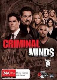 Criminal Minds - Season 8 on DVD