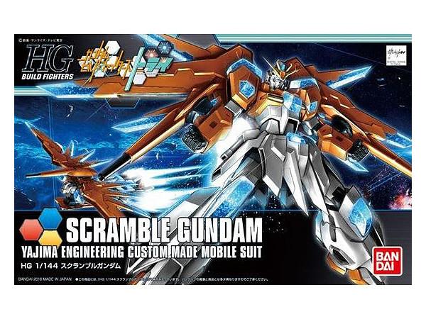 HGBF 1/144 Scramble Gundam - Model Kit