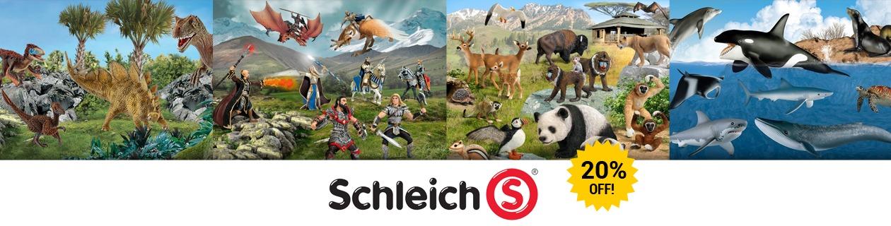 20% Off Schleich!