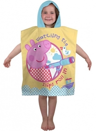 Peppa Pig Hooded Poncho