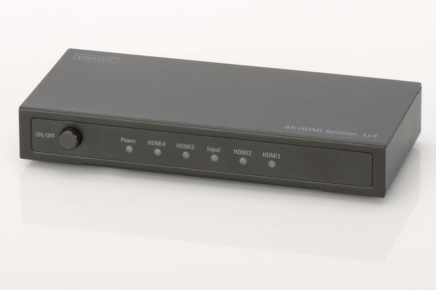 Digitus 4K HDMI 4-Way Powered Splitter