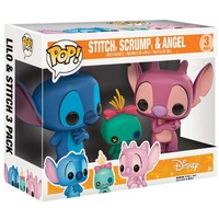 Lilo & Stitch - Stitch, Scrump & Angel Pop! Vinyl 3-Pack