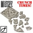 Green Stuff World - Broken Bones Plates- Crunch Times