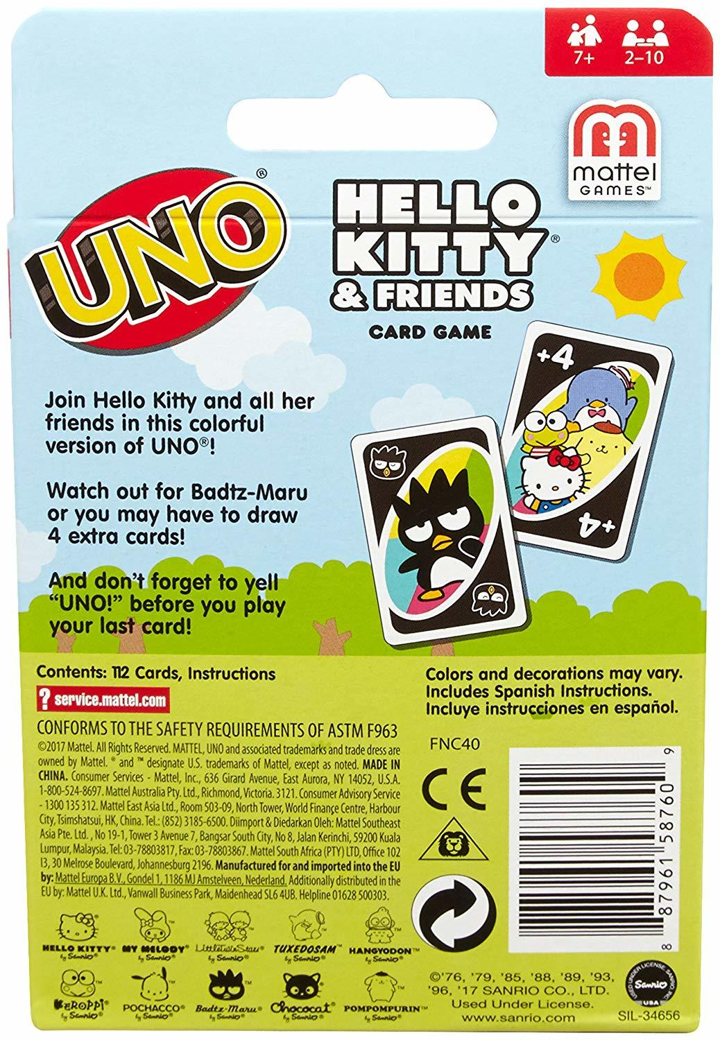 3386e6eb1 Uno - Hello Kitty | Toy | at Mighty Ape NZ