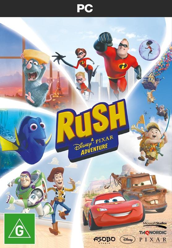Rush Disney Pixar Adventure | PC | On Sale Now | at Mighty