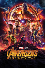 Marvel Avengers Infinity War One Sheet Maxi Poster (804)