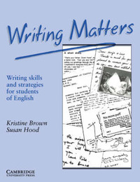Writing Matters by Kristine Brown image