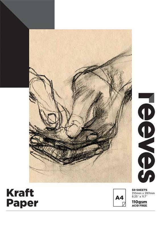 Reeves: Kraft Pad - A4 (110GSM, 50 Sheets)