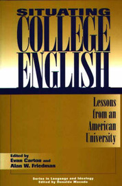 Situating College English by Evan Carton image