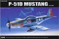 Academy P-51D Mustang 1/72 Model Kit