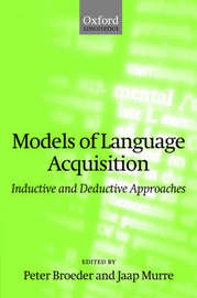 Models of Language Acquisition by Peter Broeder image