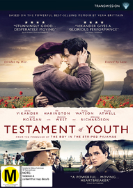 Testament Of Youth on DVD