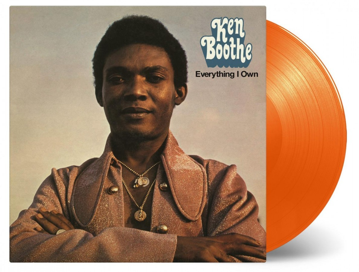 Everything I Own [Orange Vinyl] (LP) by Ken Boothe image
