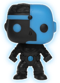Justice League - Cyborg (Silhouette Glow) Pop! Vinyl Figure