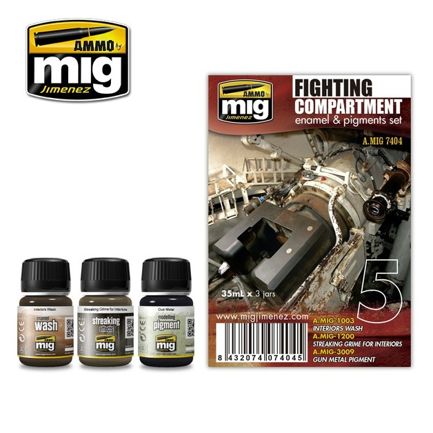Fighting Compartment Weathering Set