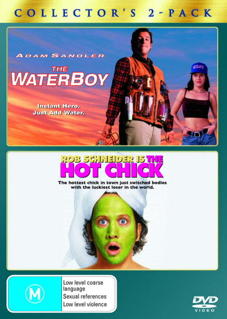 Waterboy, The / The Hot Chick - Collector's 2-Pack (2 Disc Set) on DVD image