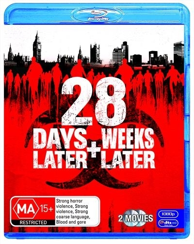 28 Days Later/28 Weeks Later on Blu-ray
