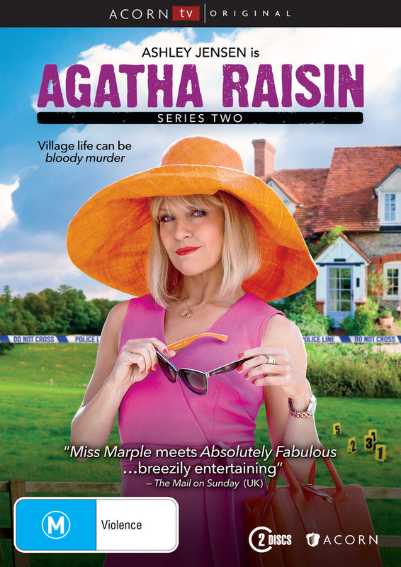 Agatha Raisin Series 2 on DVD