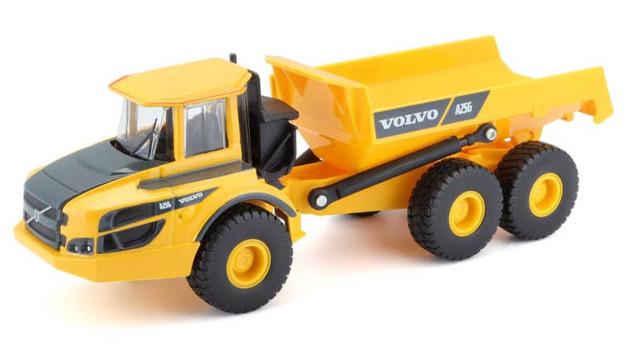 Burago: Volvo Articulated Hauler - 1/50 Scale Vehicle
