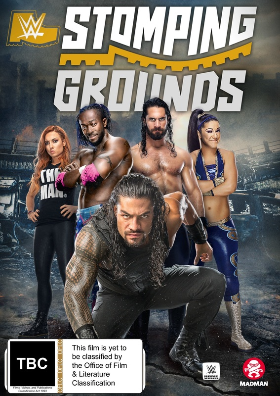 WWE: Stomping Grounds 2019 on DVD
