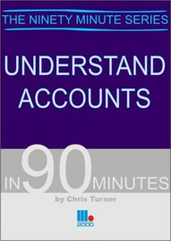 Understand Accounts in 90 Minutes by Chris Turner image