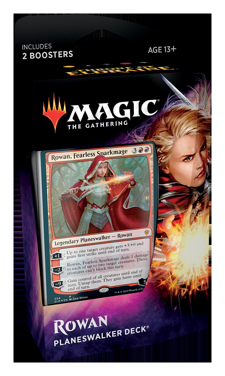 Magic The Gathering: Throne of Eldraine Planeswalker Decks- Rowan image