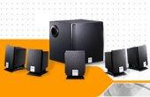 Creative SB Live DE 5.1/Inspire 5300 Retail Bundle for PC Games