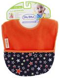 Silly Billyz Pocket Bib (Orange/Star)