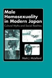 Male Homosexuality in Modern Japan by Mark J McLelland image