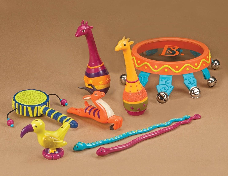 B. Jungle Jam Drum - Instrument Set | Toy | at Mighty Ape Australia