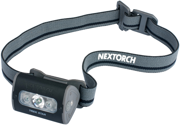 Nextorch Trek Star 220L LED Headlamp (Black)