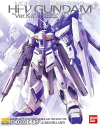 1/100 MG Hi-Nu Gundam Ver.Ka (Premium Decal Ver.) - Model Kit