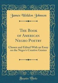 The Book of American Negro Poetry by James Weldon Johnson image