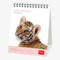 Baby Animals 2019 Desk Calendar