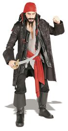 Rubie's: Captain Cutthroat - Deluxe Costume (Medium)