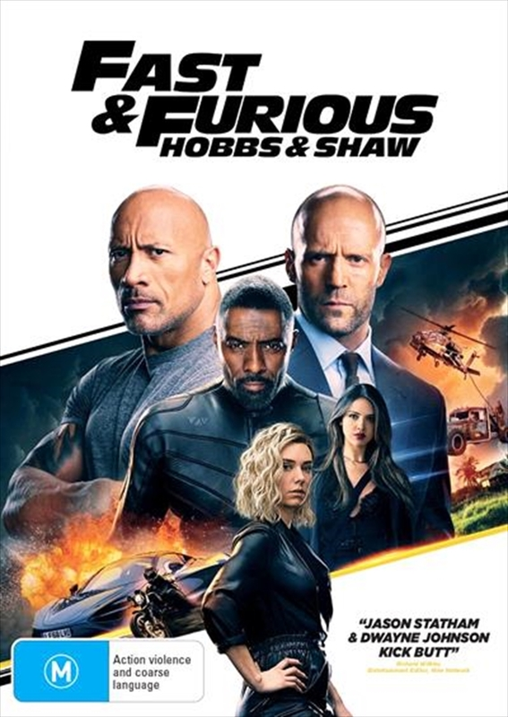 Fast & Furious Presents: Hobbs And Shaw on DVD
