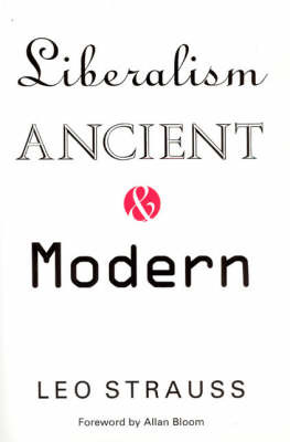 Liberalism Ancient and Modern by Leo Strauss image