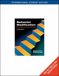 Behavior Modification by Raymond G. Miltenberger image