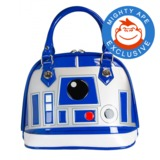 Loungefly Star Wars R2-D2 Patent Dome Bag